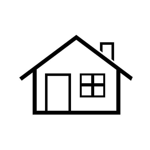 Home Icon Simple Symbol Home Clipart Home Icons Icons Converter Png And Vector With Transparent Background For Free Download Dinding Gambar Seni Gambar