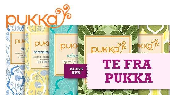 Økologisk te fra Pukka