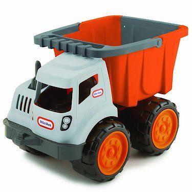 Little Tikes Dirt Diggers 2-in-1 Dump Truck Little Tikes http://www.amazon.com/dp/B003WJT21O/ref=cm_sw_r_pi_dp_.cCYtb10T2Y6DKAT
