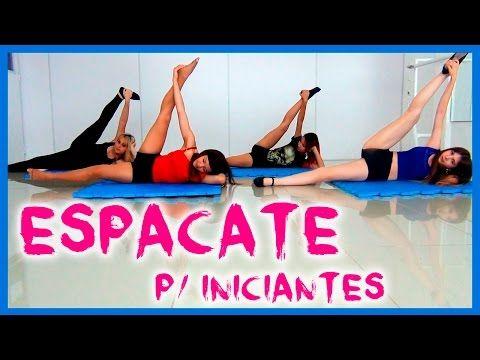 Como abrir espacate? Espacate para iniciantes (Split for beginners by Black Shine) - YouTube
