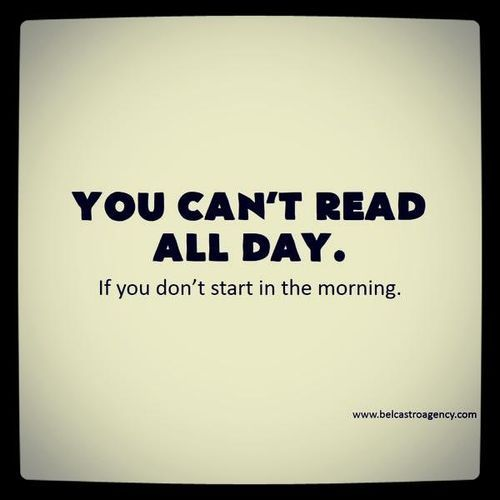 Start early to read #books #reading #quotes #funny