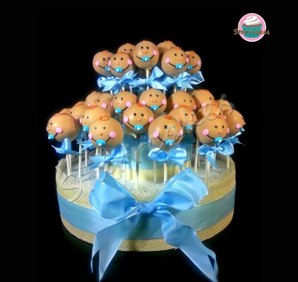 Baby Cakepops by www.starrcakes.com