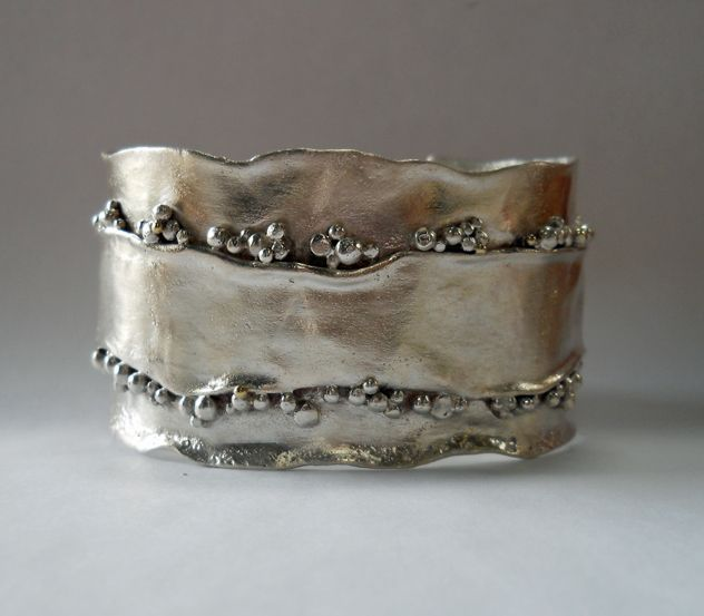 Christine Peters Hamilton: Reticulated Silver Handcrafted Jewelry. Amazing!