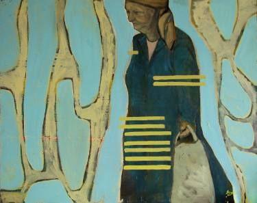 """Saatchi Art Artist Loredana Găină; Painting, """"Time Is Always here"""" #art"""