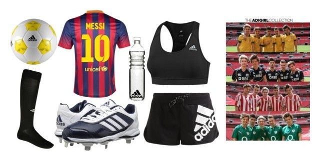 """""""soccer game with one direction ft. adidas clothes"""" by fangirl-for-life13 ❤ liked on Polyvore"""