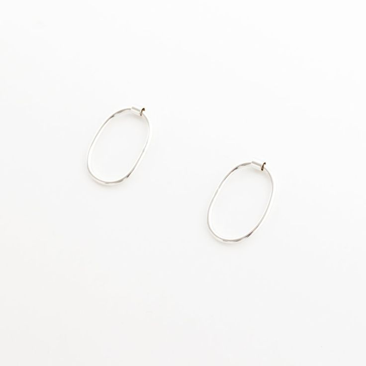 LINKE EARRINGS - SILVER - ANOTHER FEATHER JEWELRY