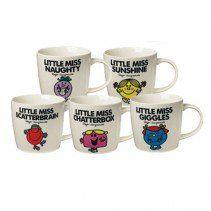 Little Miss Mr Men Mugs