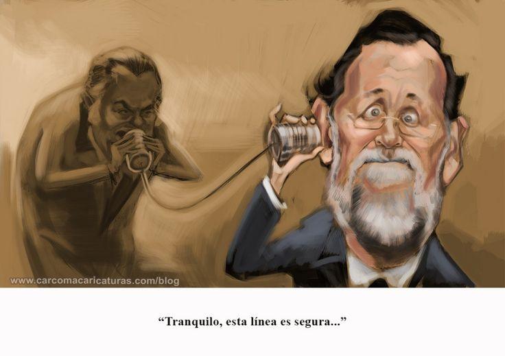 #carcoma #caricaturas #rajoy #barcenas #caso_barcenas #financiacion_partidos #sobres #Mariano_Rajoy #QueSeVayaLaMafia #Rajoy