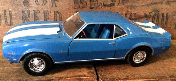 Estate welly diecast 1968 chevrolet camaro z28 1 24 scale for Shelby motors champaign il