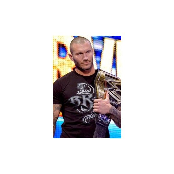 WWE Champion Randy Orton wwe ❤ liked on Polyvore featuring randy orton and wwe