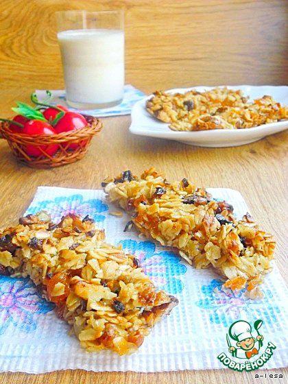 Батончики гранола - кулинарный рецепт