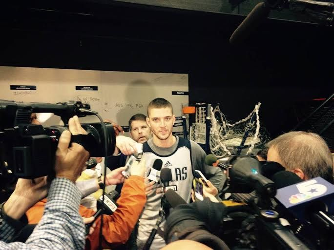 Rick Carlisle Speaks on the Availability of Chandler Parsons and Devin Harris for Game 2
