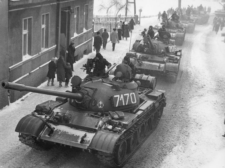 Martial law in Poland - 1981