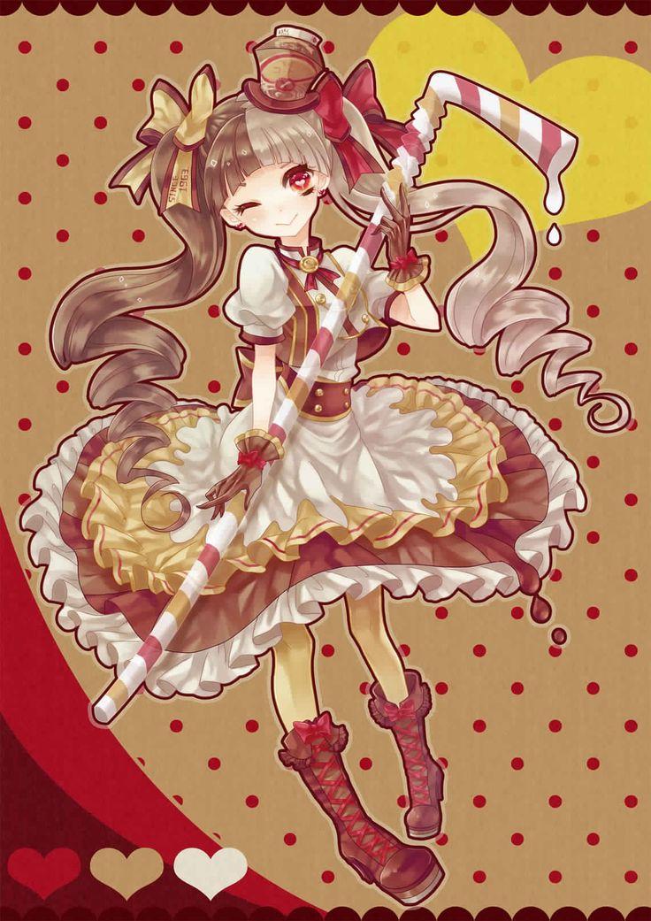 8 best Anime chibi dessert girls images on Pinterest ...