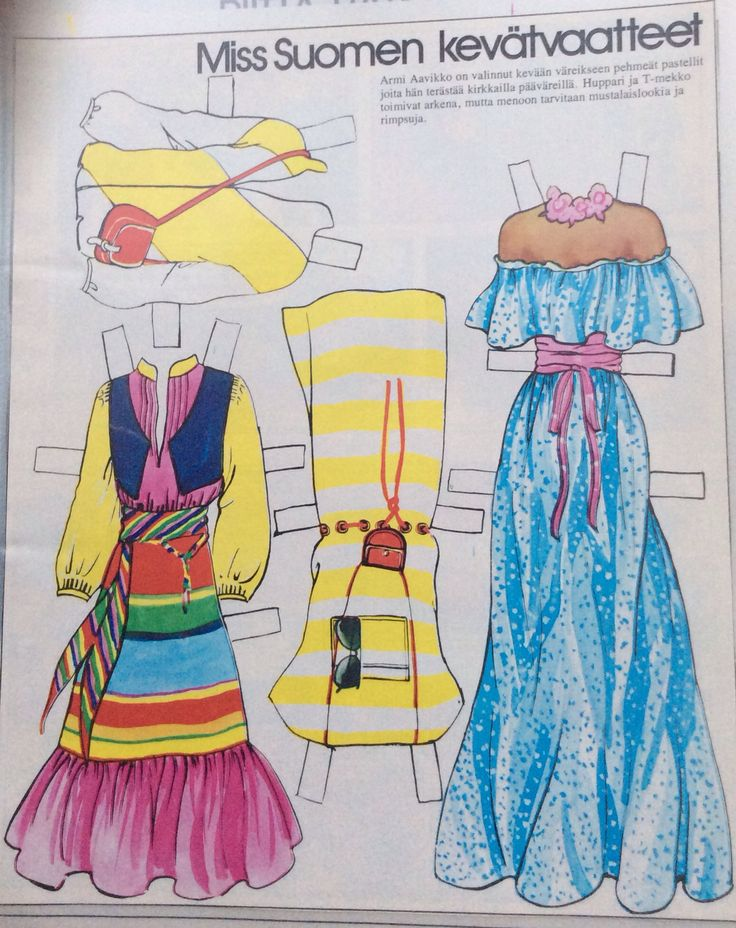 Armi Aavikko clothes 1977