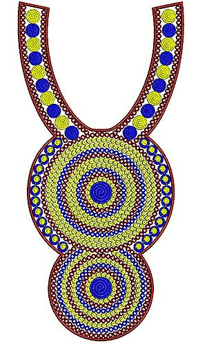 Pakistani Salwar Kameez Embroidery Design