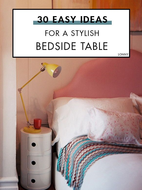 30 Easy Ideas For A Stylish Bedside Table Stylish Bedside Tables Cool Room Designs Beautiful Bedroom Decor