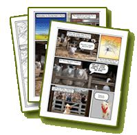 Flashlight Readers: Charlotte's Web: Make-Your-Own Comics