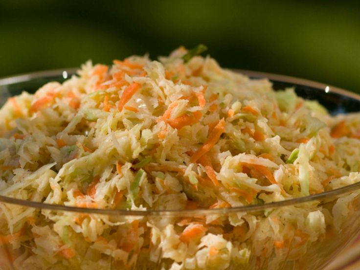 Sweet and Spicy Coleslaw recipe from Patrick and Gina Neely via Food Network