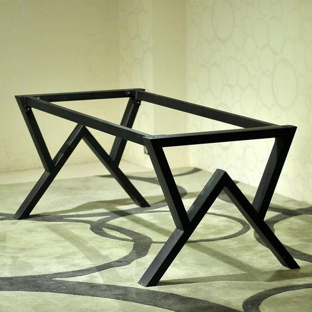 , Ferro forjado mesa de computador mesa mesa de madeira sólida