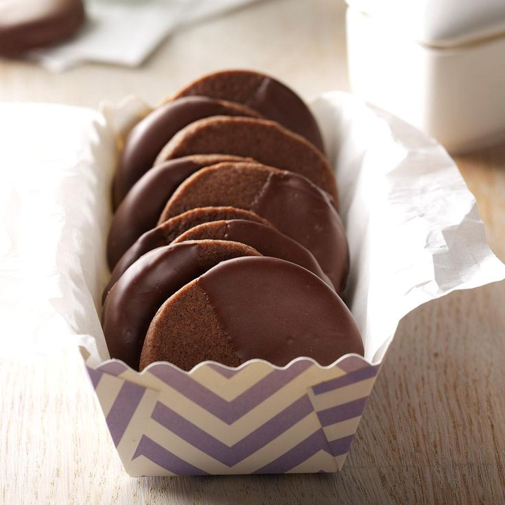 Cappuccino Flats Recipe -These coffee-flavored cookies are so delicious most people can't believe they're made in my own kitchen instead of a gourmet bakery!