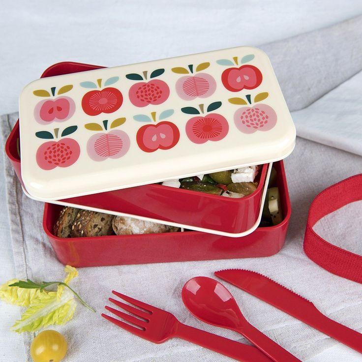 "Grosse Bento-Box ""Vintage Apple"""