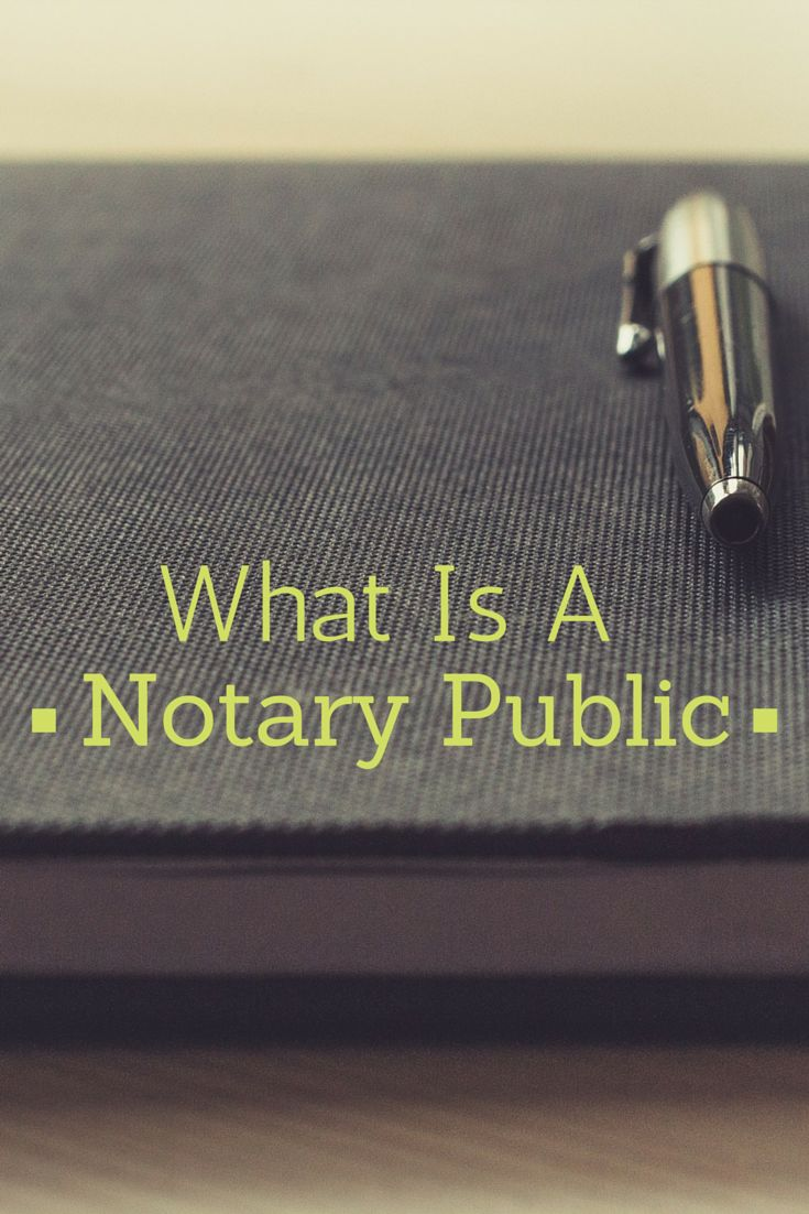 A Notary Public Is An Official Of Integrity Appointed By State Government  €�typically By The