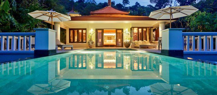 Poolvilla på Trisara Phuket