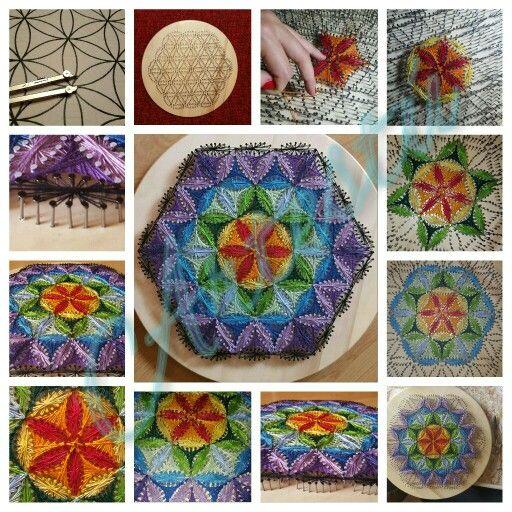 Artestú en Facebook stringart String Art