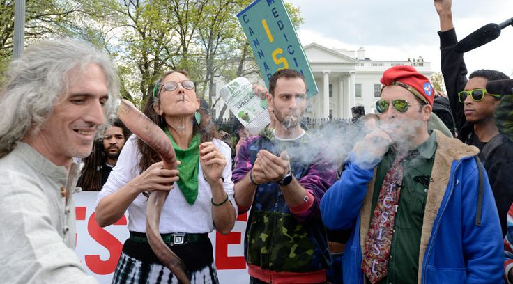 Soldiers and hippies will soon be able to smoke up together if the bill is signed by the man who works in the building seen in this photo. © Mike Theiler