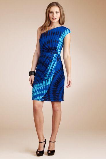 My new dress: One Shoulder Dresses, Shops, Brown Morgan, New Dresses, Draping, Cocktails