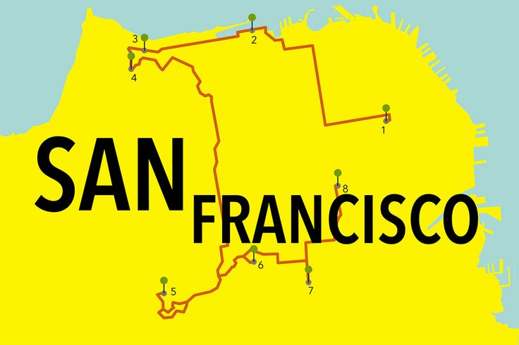 Our perfect park day route in San Francisco. #Wanderlist