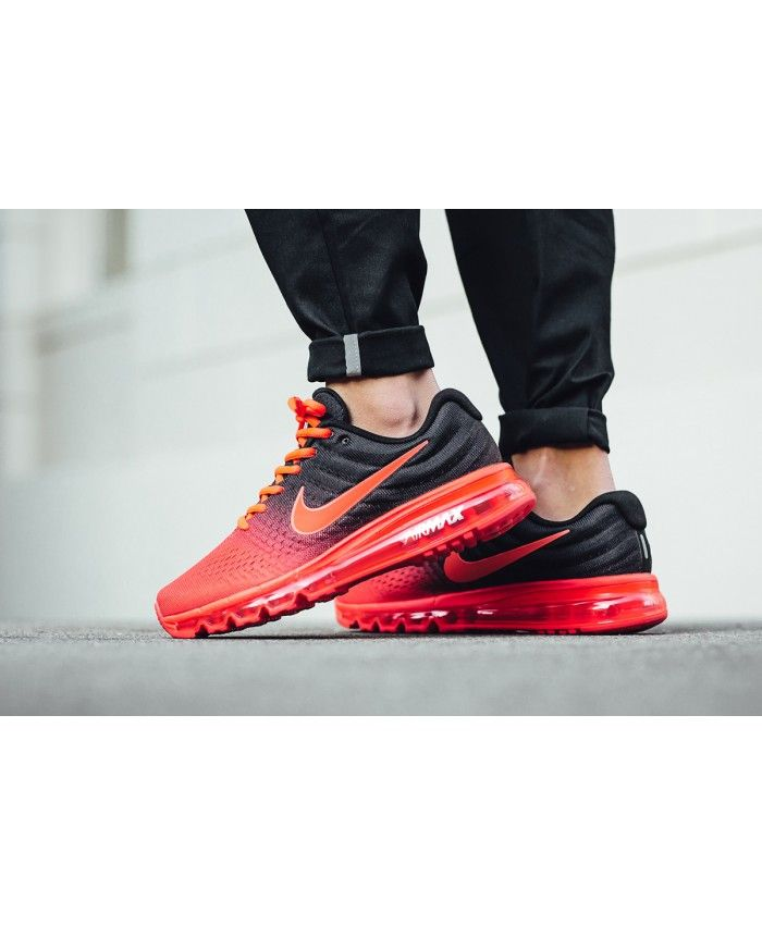 this Nike Air Max 2017 Crimson Red Black Uk Trainers is popular .