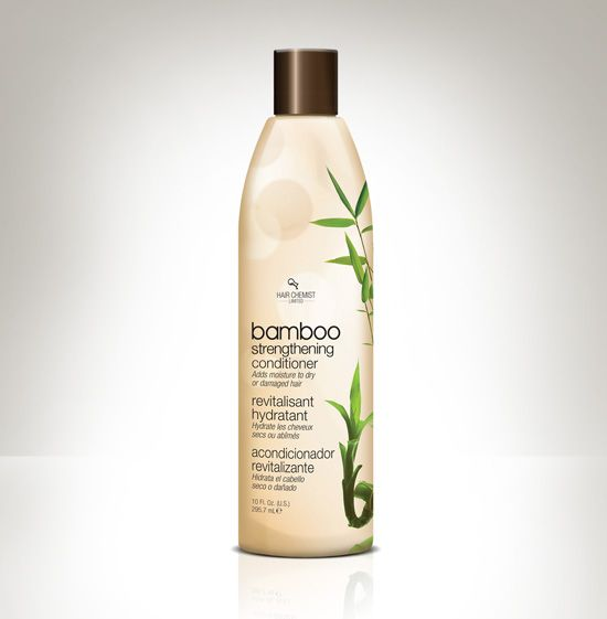 Get, flexible, stronger, healthier, better-performing hair with the benefits of bamboo. The proteins in bamboo help retain the moisture in the hair cuticle and aid in smoothing out ruffled, roughened hair, giving your hair control, texture and shine.