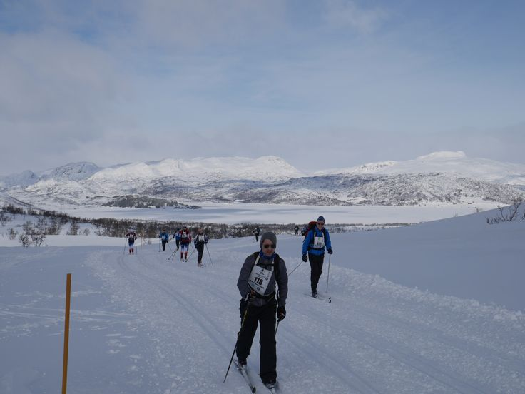Cross country skiing at Hovden in Setesdal in Southern Norway   Photo: Elisabeth Høibo©Visit Southern Norway