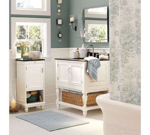 white wainscoting bathroom white wainscoting wi darker bluish turquoise blue walls 15165