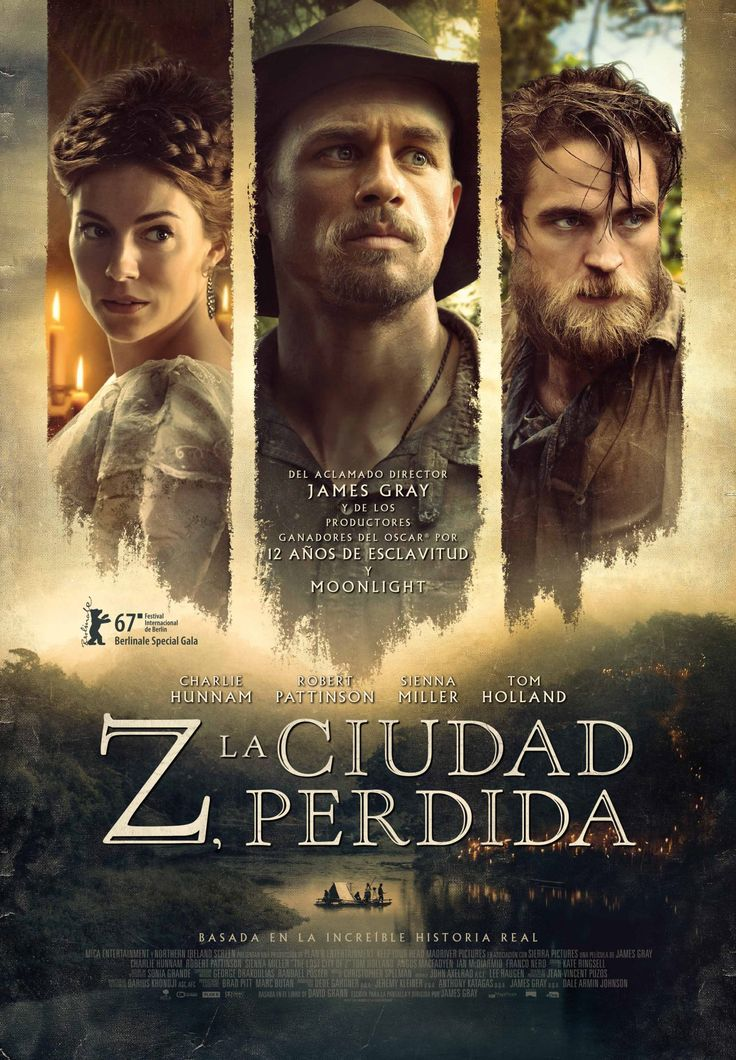 Z. La ciudad perdida nos relata la historia, basada en hechos reales, del explorador inglésPercy Fawcett que, a principios del siglo XX, enviado a la selva amazónica en primer lugar como cartógraf…