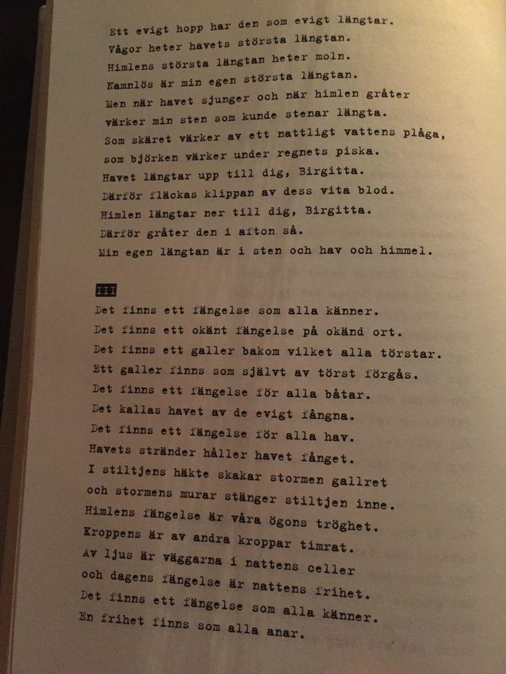 Stig Dagerman - Birgitta svit II