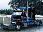 Peterbilt 378 Long Hauler Tractor Cab -- Plastic Model Truck Kit -- 1/24 Scale -- #553857