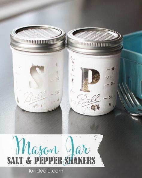 65 best mason jar images on Pinterest Mason jar projects, Mason