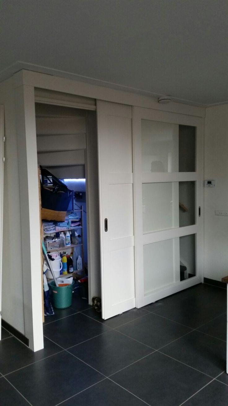 Schuifdeur voor trap op maat