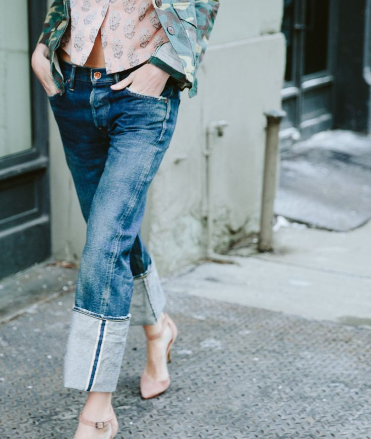 Noticed: The Exaggerated Denim Cuff