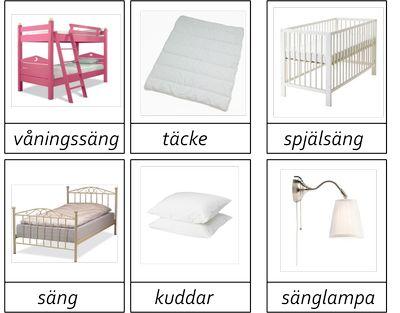 Sovrum 3 delar -beställning