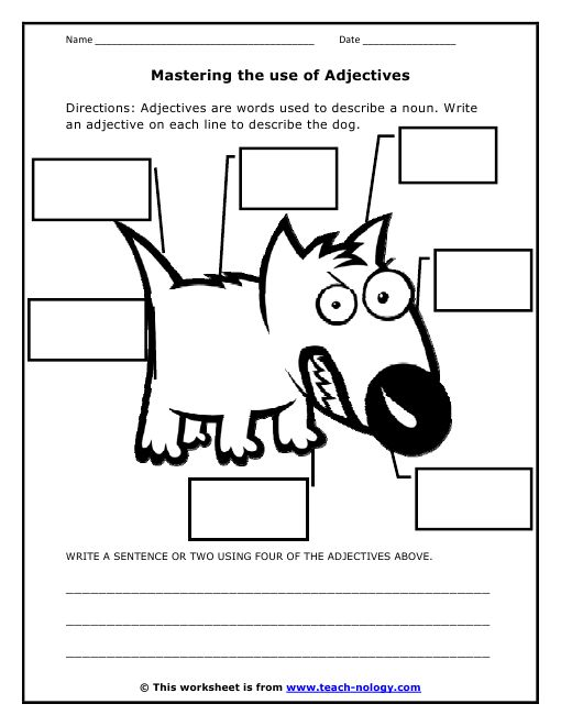 for the free worksheet turkeys love adjectives worksheet