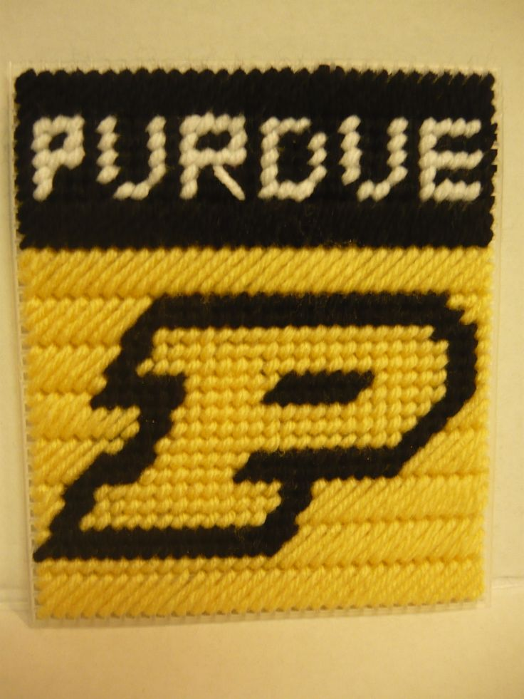 95 Best Images About Plastic Canvas College Logos On
