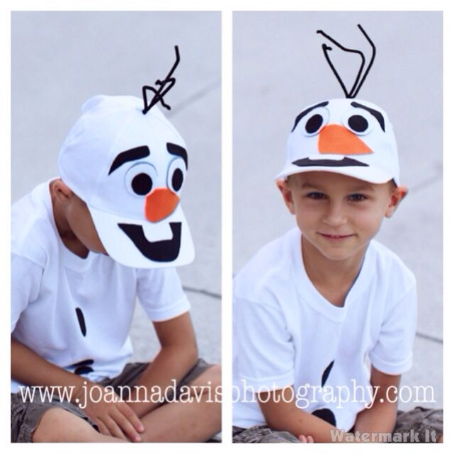 23 best playing dress up images on pinterest carnivals costume diy olaf costume for my boys hat felt and hot glue all solutioingenieria Image collections