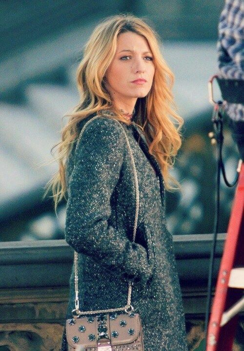 Blake Lively. She is totally my hair inspiration. I can't wait until my hair grows out!