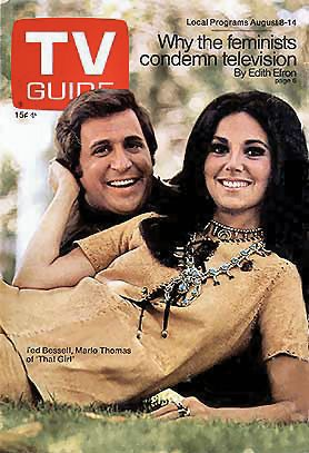 "Donald & ""That Girl"" Marlo Thomas. They never thought of having sex in those days! Not on TV anyway!"