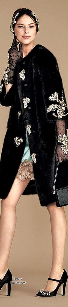 Dolce & Gabbana 2015 Holiday Party Collection Women's Fashion RTW | Purely Inspiration