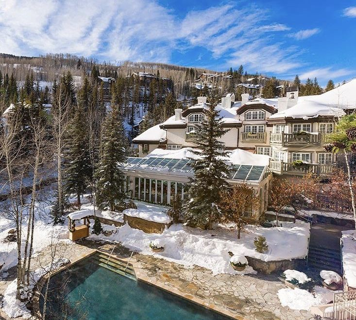 Breathe In The Crisp Clean Mountain Air At This Quintessential Vail Resort Sonnenalp Vail Colorado Luxury Travel Jgbbcollecti Vail Resorts Hotel Resort